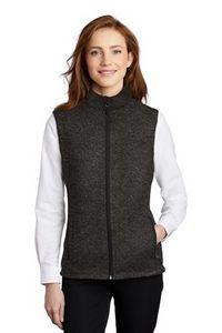 Port Authority® Ladies' Sweater Fleece Vest