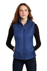 Port Authority® Ladies Packable Puffy Vest