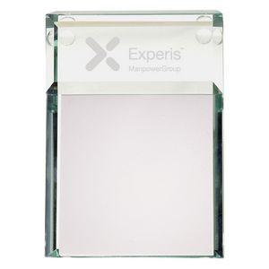 Atrium™ Glass Message Pad Holder