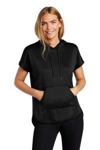 New Era® Ladies Performance Terry Short Sleeve Hoodie