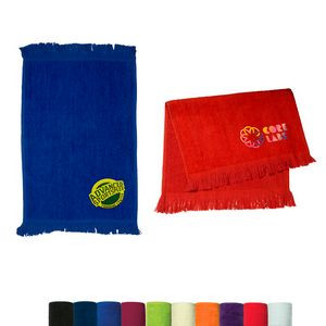 "Velour Sport Towel - Dark Colors (11""x18"")"