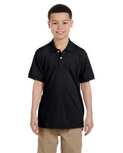 Harriton® Youth 5.6 Oz. Easy Blend™ Polo Shirt