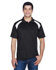 Harriton® Adult Polytech Colorblock Polo Shirt