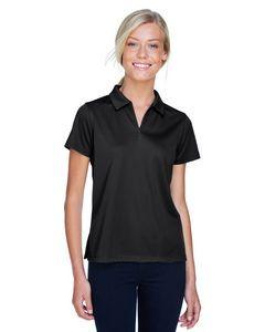Harriton® Ladies' Double Mesh Polo Shirt