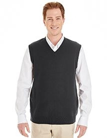 Harriton® Pilbloc™ V-Neck Men's Sweater Vest