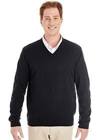 Harriton® Men's Pilbloc™ V-Neck Sweater