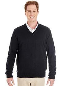 Harriton® Men's Pilbloc™ V-Neck Sweater