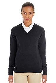 Harriton® Ladies' Pilbloc™ V-Neck Sweater