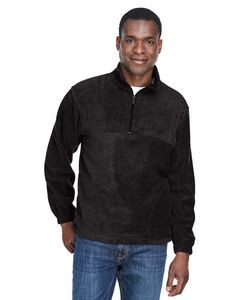 Harriton Adult 8 oz. Quarter-Zip Fleece Pullover