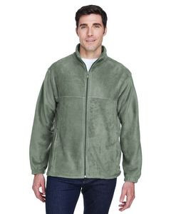 Harriton® Men's 8 Oz. Full-Zip Fleece Jacket