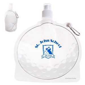 HydroPouch!™ 24 oz. Golf Ball Collapsible Water Bottle