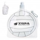 HydroPouch!™ 24 oz. Volleyball Collapsible Water Bottle