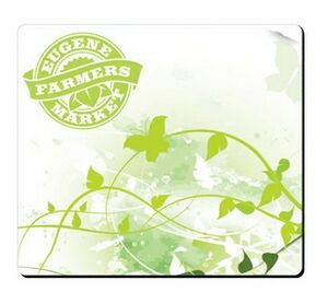 """BIC® Fabric Surface Mouse Pad (7 1/2""""x8 1/2""""x1/4"""")"""