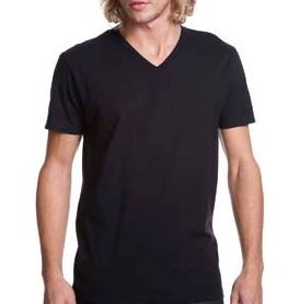 NEXT LEVEL APPAREL Men's Cotton V