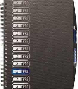 """Wire Bound TechnoMetallic Journals - Medium NoteBook (8.5""""x11"""")"""