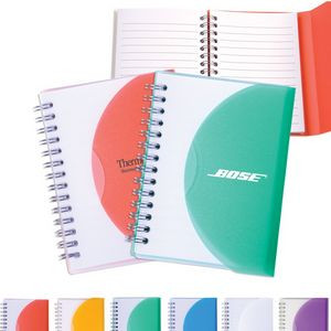 Medium Spiral Curve Notebook