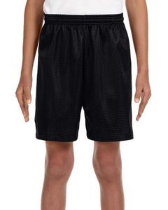 A4 Youth Six Inch Inseam Mesh Shorts