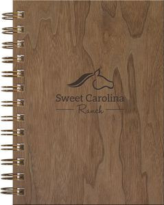 WoodGrain Journals - NotePad