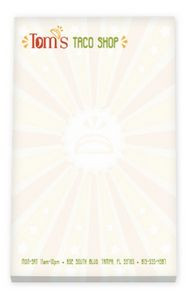 """4""""x6"""" BIC® Ecolutions® 50 Sheet Non-Adhesive Scratch Pad"""