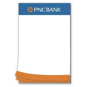 50 Page 5-1/2 x 8-1/2 Paper Note Pad with Magnet