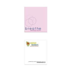 "2¾""x3"" BIC® Adhesive 50 Sheet Notepad"