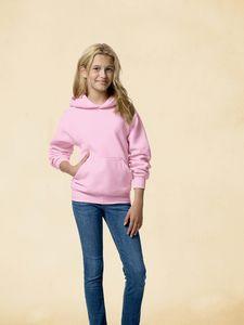 Hanes Youth 7.8 Oz. EcoSmart® 50/50 Pullover Hood