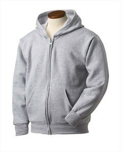 Hanes Printables Youth 7.8 oz. EcoSmart® 50/50 Full-Zip Hood