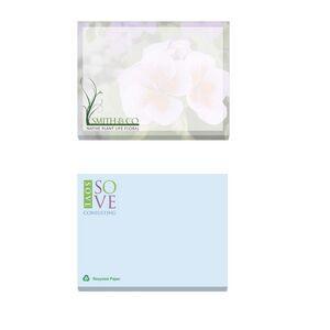 "4""x3"" BIC® Ecolutions® Adhesive 100 Sheet Notepad"