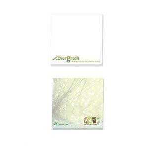"4""x3"" BIC® Ecolutions® Adhesive 50 Sheet Notepad"