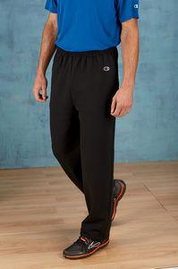 Champion® 9 Oz. Double Dry Eco® Open Bottom Fleece Pant w/Pockets