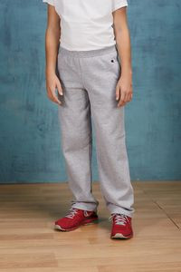 Champion® Youth 9 Oz. Double Dry Eco® Open-Bottom Fleece Pants