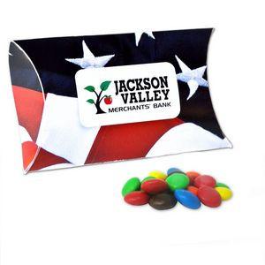 Full Color Paper Pillow Pack w/ Mini Bag M&Ms