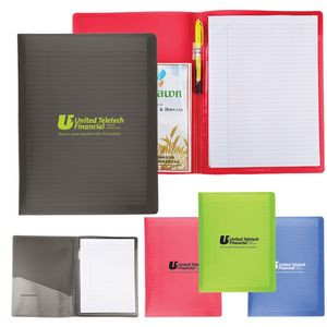 Letter Size Folder with Writing Pad