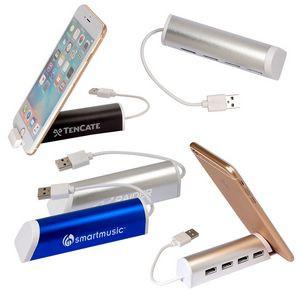 USB Hub w/ Phone Holder