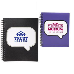 Logo-Burst™ Spiral Notebook