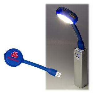USB Flex Light 4 Port USB Hub