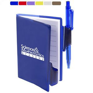 Clear-View Jotter with Pen