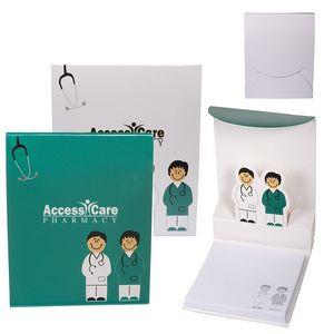 Doctor & Nurse 3D Sticky Pad