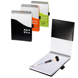 Two-Tone Jotter w/MopToppers® Stylus Pen