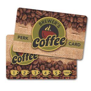 Plastic Wallet Card - 12 mil