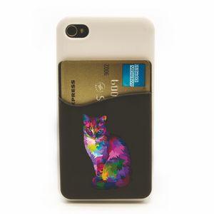 Full Color Phone Wallet Credit Case Holder