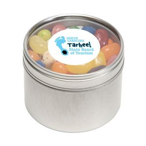 Jelly Bellys in Small Round Window Tin