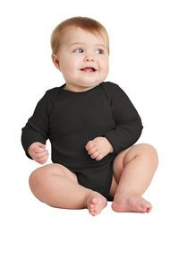 Rabbit Skins™ Infant Long Sleeve Baby Rib Bodysuit
