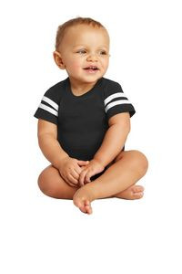 Rabbit Skins™ Infant Football Fine Jersey Bodysuit