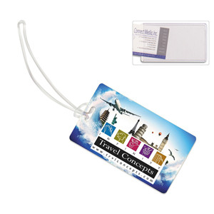 """Thunderbolt Pl"" ID Slip-In Pocket Luggage Bag Tag (PhotoImage® Full Color)"