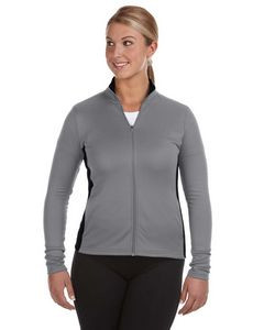 Champion® Ladies' 5.4 Oz. Performance Colorblock Full-Zip Jacket