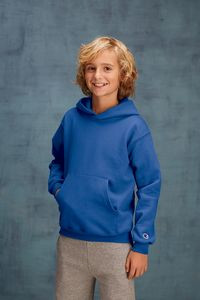 Champion® Youth Double Dry Eco® 9 Oz. 50/50 Pullover Hoodie