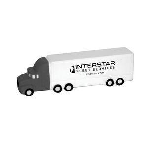 Stress Semi Truck White/Grey