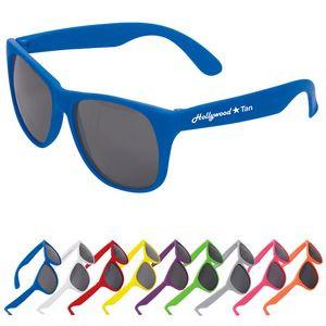 Single Tone Matte Sunglasses