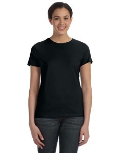 Hanes Ladies' 4.5 Oz. 100 percent Ring Spun Cotton nano-T® T-Shirt
